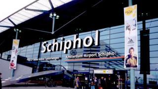 Schiphol International Airport in Amsterdam (July 2000)