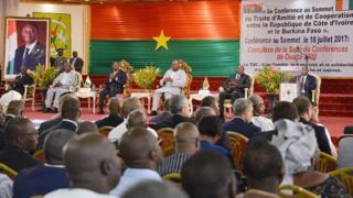 Le 6è Traité de l'Amitié et de la Coopération (TAC) entre le Burkina Faso et la Côte d'Ivoire se tient à Ouagadougou.