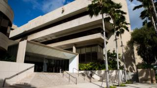 The suspect appeared in the federal courthouse in Honolulu, Hawaii