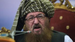 Maulana Sami ul-Haq. file Photo