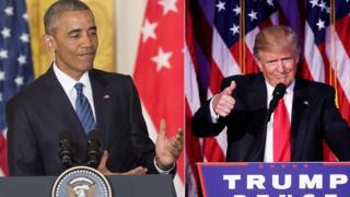 Obama və Trump