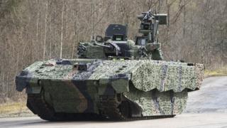 A Combat Vehicle Reconnaissance (Tracked) tank