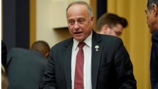 US Republican Congressman Steve King of Iowa.