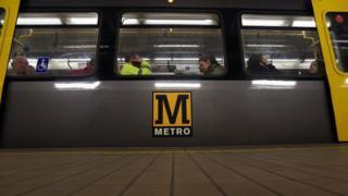 Metro train carriage