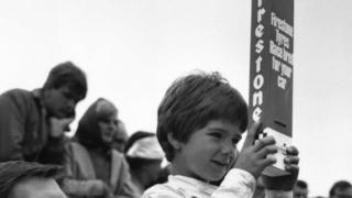 Damon Hill, aged six.