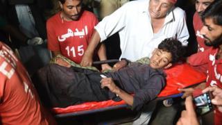 Взрыв в Пакистане