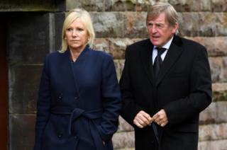 Sir Kenny Dalglish and wife Marina