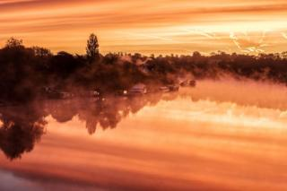 Sungai Trent di Gunthorpe, Nottingham