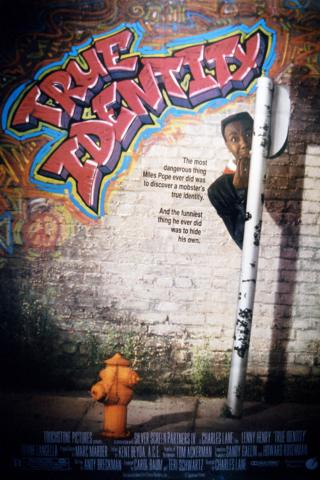 Film poster for 1991 film True Identity