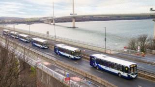 Driverless bus trial