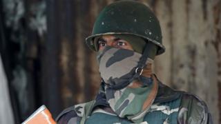 ભારતીય સૈન્યના જવાનની પ્રતિકાત્મક તસવીર