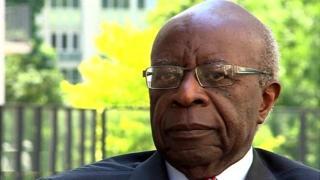 Faustin Twagiramungu, visi perezida akaba n'umuvugizi wa MRCD