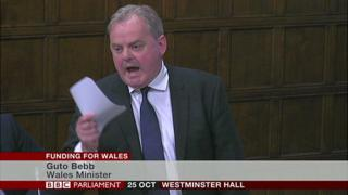 Wales Office Minister Guto Bebb