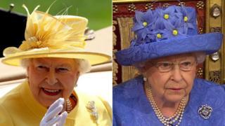The Queen's hat change