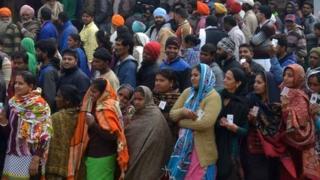 पंजाब में मतदाता