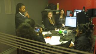 School reporters learn technical skills
