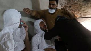 Внаслідок ймовірної хімічної атаки у квітні в провінції Ідліб загинули щонайменше 80 людей