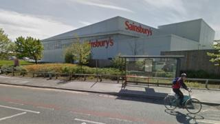 Sainsbury's store in Lancaster Road, Morecambe