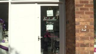 Bridezillas shop window