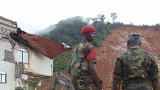 Оползни в Сьерра-Леоне