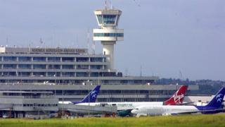 Murtala Mohammed International Airport in Lagos