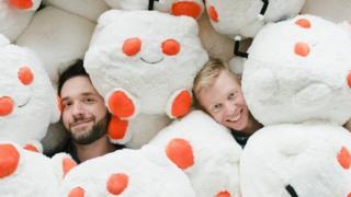 Reddit fue fundado por Alexis Ohanian (izquierda) y Steve Huffman (Foto: Reddit)