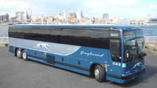 FirstGroup Greyhound bus