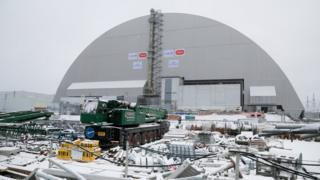Новое укрытие аварийного реактора