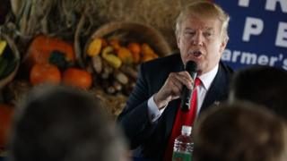 Donald Trump on Monday October 24