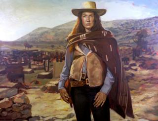 Virginia Eastwood in The Good, The Bad and the Ugly by Felice House