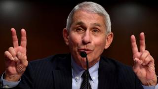 Dr Anthony Fauci, director of the National Institute for Allergy and Infectious Diseases