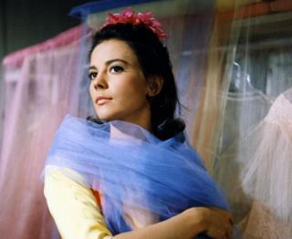 Natalie Wood as Maria in the 1961 West Side Story