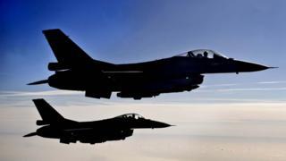 F-16s (file pic), 2013