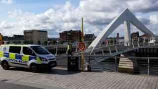Tradeston Bridge, Glasgow