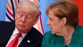 Trump ve Merkel