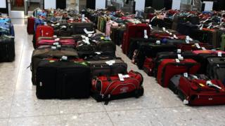 Baggage at Heathrow (generic)