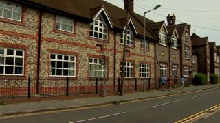 A grammar school in Marlow which has expressed interest in opening an extension in Theresa May's constituency