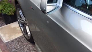 damage to car