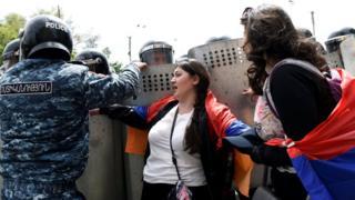اعتراضهای ارمنستان