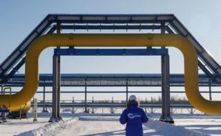 """""""Sibirya'nın Gücü"""" doğalgaz boru hattı"""