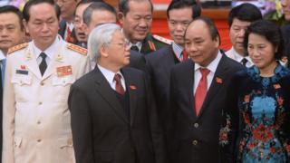 Việt Nam hiện có bốn vị lãnh đạo cao nhất, được gọi là 'tứ trụ'