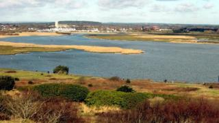 View of Christchurch from Hengistbury Head