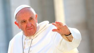 Papa Francis avuga ko intambara hagati ya Korea ya ruguru na Amerika yohonya igice kinini c'ibiremwa muntu