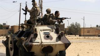 Egypt has intensified efforts to counter terrorism in the Sinai peninsula