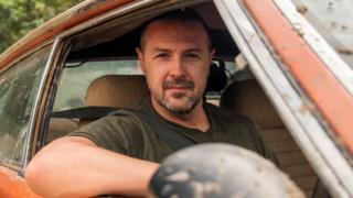 Paddy McGuinness on Top Gear