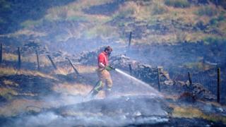 Winter Hill Fire