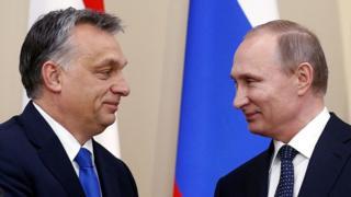 Путін Орбан