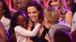 Angelina Jolie adopted her daughter from Ethiopia in 2005