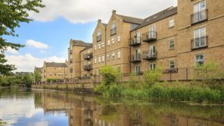 Riverside flats in Leeds