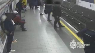 Homem no metro